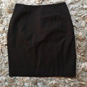 NWT Banana Republic Black Pencil Skirt Size 6